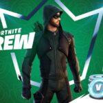 Green Arrow in Fortnite