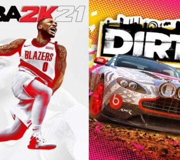 DiRT 5 و NBA 2K21
