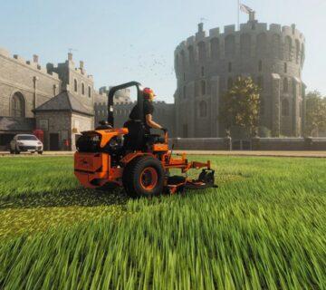 Halo را فراموش کنید! Lawn Mowing Simulator عنوانی است که منتظرش بودیم